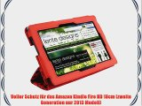Schutzh?lle Lente Designs? Amazon Kindle Fire HD 7 (2. Generation 2013 Modell) H?lle In 'Red