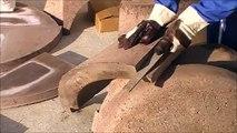 Montage du four à bois Ephrem: le Pizzaiollo, how to built a wood fired oven.