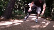 Grandpa Eats Gravel and Flips Over Handlebars On His Mountain Bike in Kingwood, Texas