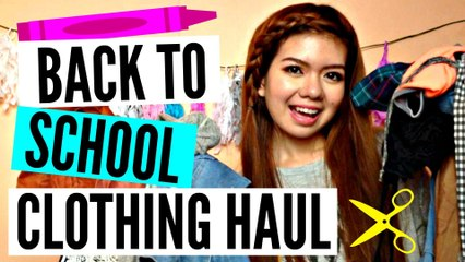 Back to School Clothing Haul | Yzabelle Provido