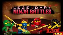 Ninjago: LEGENDARY NINJA BATTLES - Cartoon Network Games