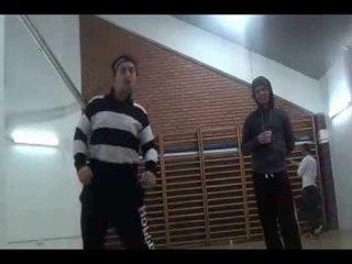 Hiti King - Popping rehearsals