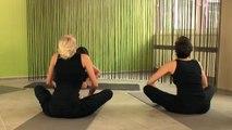 Der sitzende Schmetterling (Yin Yoga) - Entspannung und Dehnung der Wirbelsäule