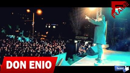 Don Enio & D.j S!X - Kalashnikov (Live ne''QYTET STUDENTI'' 18-12-2013) Official Video