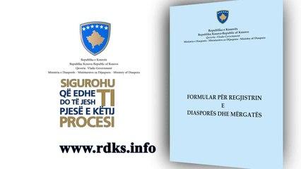 Ministria e Diaspores-Regjistri i Diaspores dhe Mergates