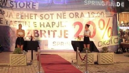 Grand Opening of Okaidi & Springfield in Prishtina