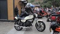 1979 Yamaha RD400 Daytona Special Motorcycle Kick Start 2011 Two Stroke Extravaganza Cooks Corner