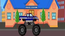 Monster Truck -  Monster Trucks For Children -  Monster Truck  By LinkKids TV