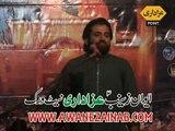 Zakir Imran Abbas Qumi Majlis 1 April 2015 Karpala Tandlianwala Faisalabad