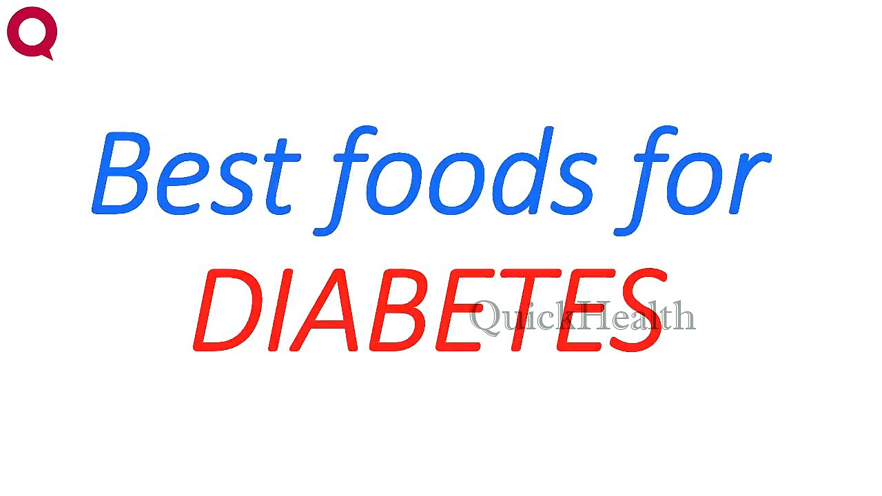 Best foods for DIABETES – Health Tips – Diabetic Tips – Health