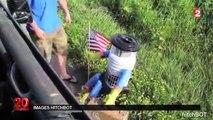 États-Unis : HitchBot, le robot auto-stoppeur démembré