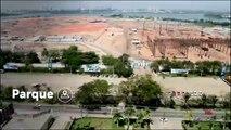 Timelapse mostra evolução das obras olímpicas no Rio