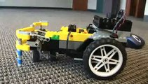 Bluetooth mouse steers Lego car