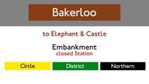 London Underground Sound Recording (Bakerloo Line: Oxford Circus - Elephant & Castle)