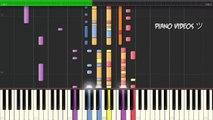 Propuesta indecente - Romeo Santos Piano Tutorial - Piano videos ツ
