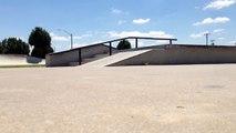 Owasso skatepark - laser flip and bigspin heelflip