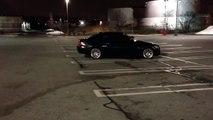 Side ways parking bmw 328i sport . A-hole move ?
