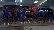Federación de Pesas en Campeonato Panamericano juvenil de Levantamiento de Pesas en Lima, Perú