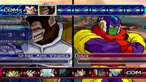 Dragon Ball Z Budokai Tenkaichi 3 - Vegeta (Scouter) (Great Ape Vegeta) Vs Slug (Giant)