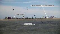 Le Mondial du vent, épreuve internationale de référence en kitesurf - Leucate