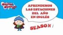 Las estaciones en ingles para niños - Canciones en inglés con las estaciones