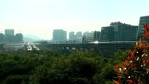 [HD] The ShenZhen Metro HuanZhong Line (Line 5) train arrived the TangLang Station