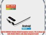 FANTEC MWiD25 Mobile WLAN Festplatte (extern 1TB 635cm (25 Zoll) WLAN USB3.0 LAN Akku integriert)