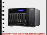 Qnap TS-1079 Pro NAS-System (33GHz DDR3 SATA III USB 3.0)