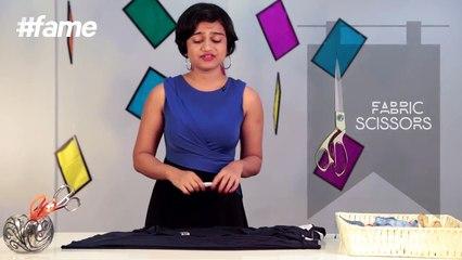 How To Make DIY Asymmetrical Skirt   #LakmeSchoolofStyle