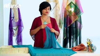 How To Make DIY Kaftan   #LakmeSchoolofStyle