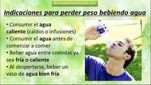 Beber agua para adelgazar   Como y cuando beber agua para perder peso