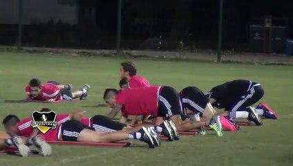 SHANGHAI Giorno 5 -  allenamento mattutino: Morata non prende parte