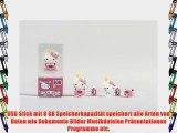 Tribe FD004410 Hello Kitty Pendrive Figur 8 GB Speicherstick Lustig USB Flash Drive 2.0 Memory