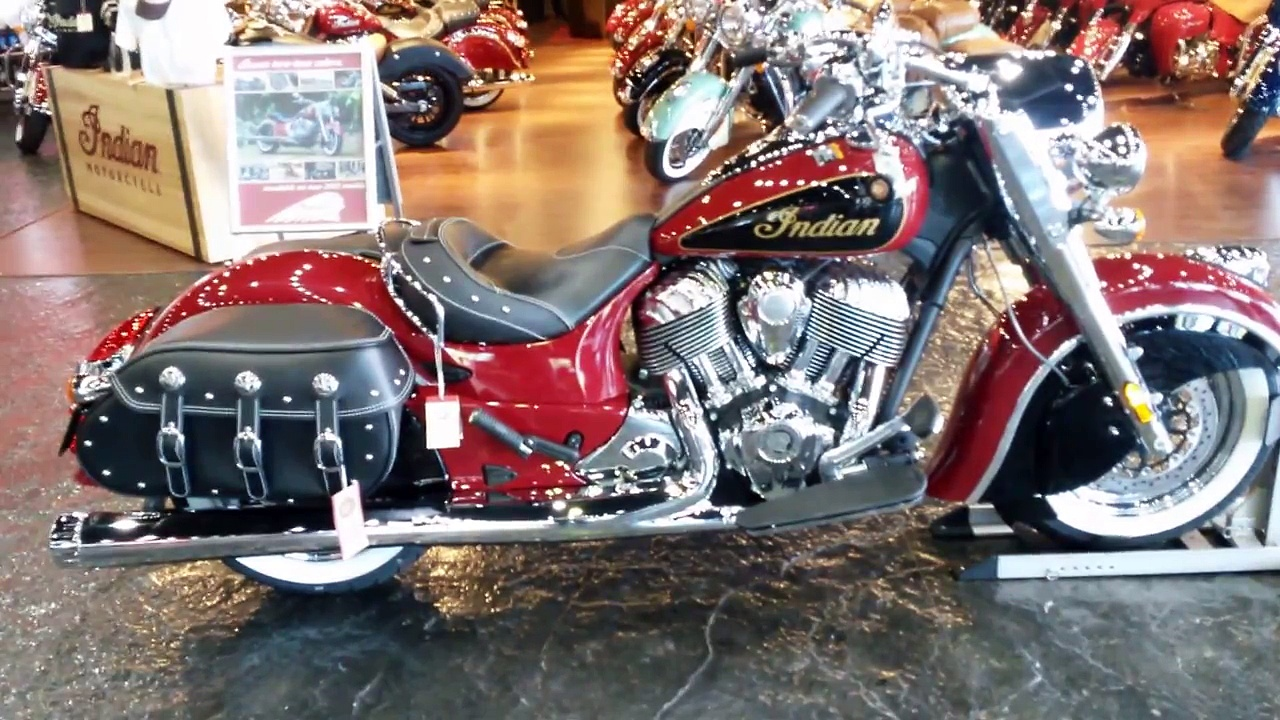 2015 Indian Chief Classic at Indian Motorcycle Las Vegas