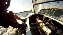 Fireball sailing Boskop Yacht Club