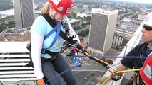 Virginia Special Olympics - River City Rappel 2009 - Over the Edge