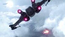 Star Wars Battlefront - Trailer de gameplay Escadron de chasseurs