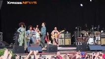 Lenny Kravitz dévoile son entrejambe lors d'un concert