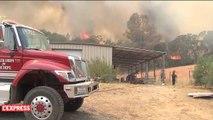 La Californie lutte toujours contre des incendies monstres