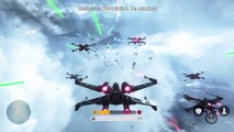"Star Wars Battlefront - Trailer de gameplay ""Escadron de chasseurs"" [FR]"