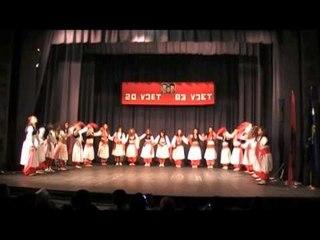 Grupi i femijve pran AAKV Emin Duraku Zhur 83 vjetori i shkolles fill Zhur
