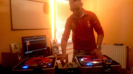 Scratch Live  Video #DJFISOO Red Vinyl Control #2014