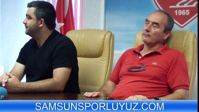 ÜMİT ÖZAT İLE SAMSUNSPOR BASINININ TANIŞMA TOPLANTISI -05082015