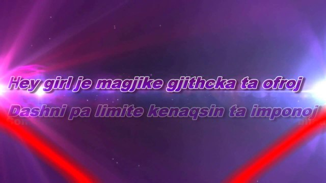 Arditi Ft. Ilira & Loricado - Magjike (Official Video Lyrics)