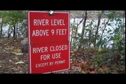 Flood!  James River Water Levels During Hurricane Ida in Richmond, VA | Jon Watts Vlog