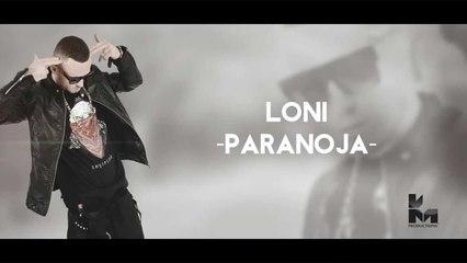 Loni - Paranoja (Official Music Lyrics Video HD) 2015