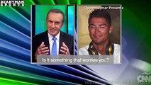 Cristiano Ronaldo quitte une interview de CNN Espagne