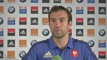 Rugby - CM - Bleus : Parra «Surtout faire un gros début de Coupe du monde»