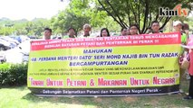 Petani, penternak Perak berdemo lagi di Putrajaya