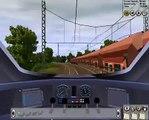 Trainz Railroad Simulator 2008 -  ICE3 Dresden - Tharandt